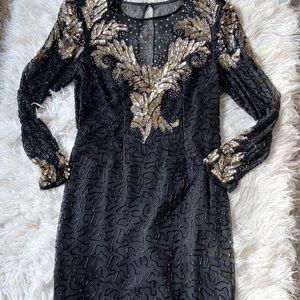 * vintage beaded dress *